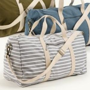 Known Supply Striped Duffle